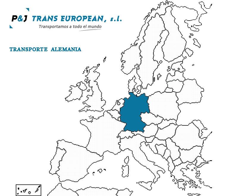 Transporte a Alemania