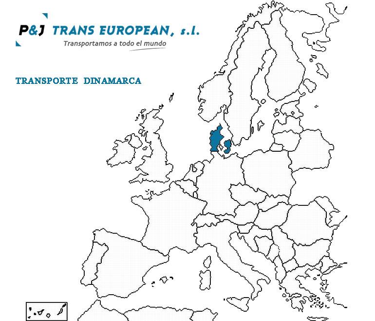Transporte a Dinamarca