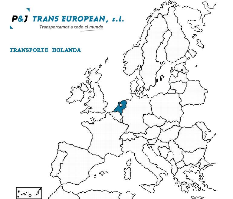 Transporte a Holanda