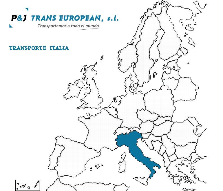 Transporte a Italia