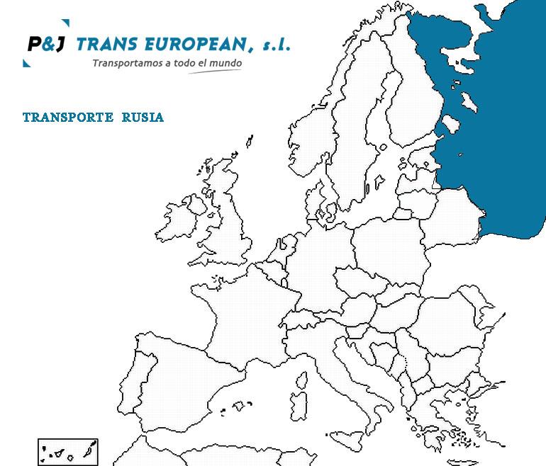 Transporte a Rusia