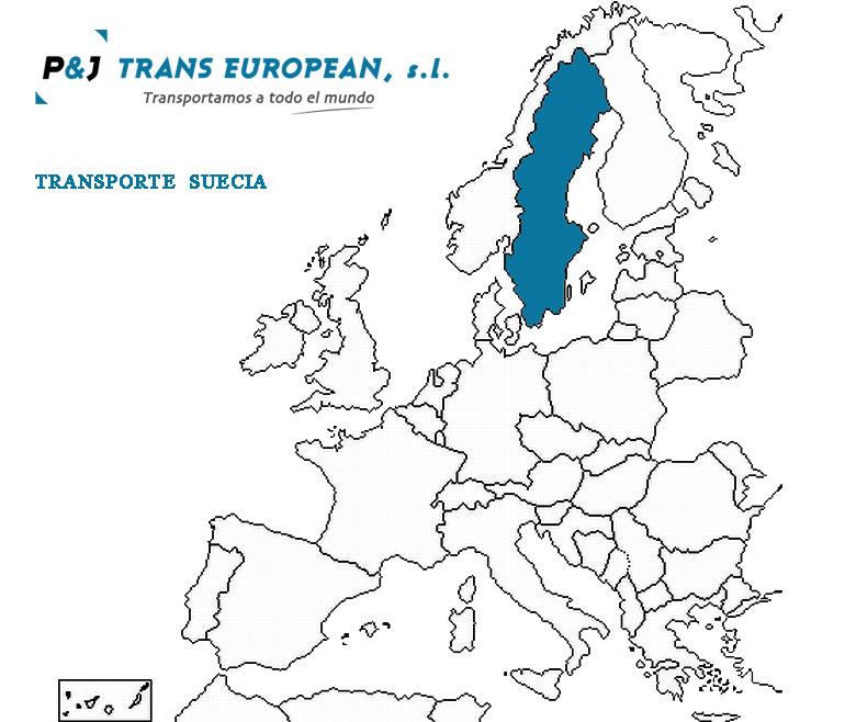 Transporte a Suecia